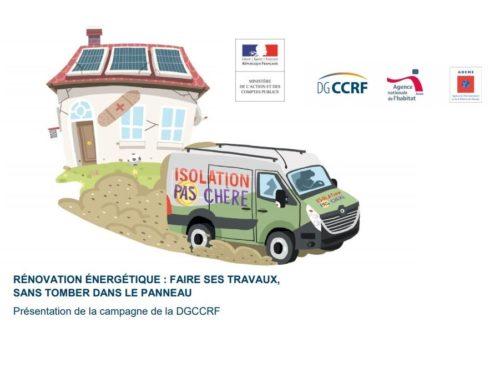 Lutte contre la fraude dans la rénovation des logements